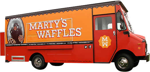 Marty's Waffles: Food Truck Schedule